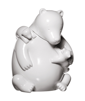 Cerealart Projects Ceramic Bear Cookie Jar