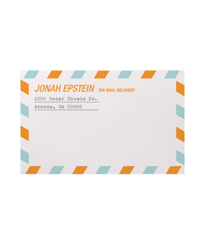 Airmail Mailing Labels