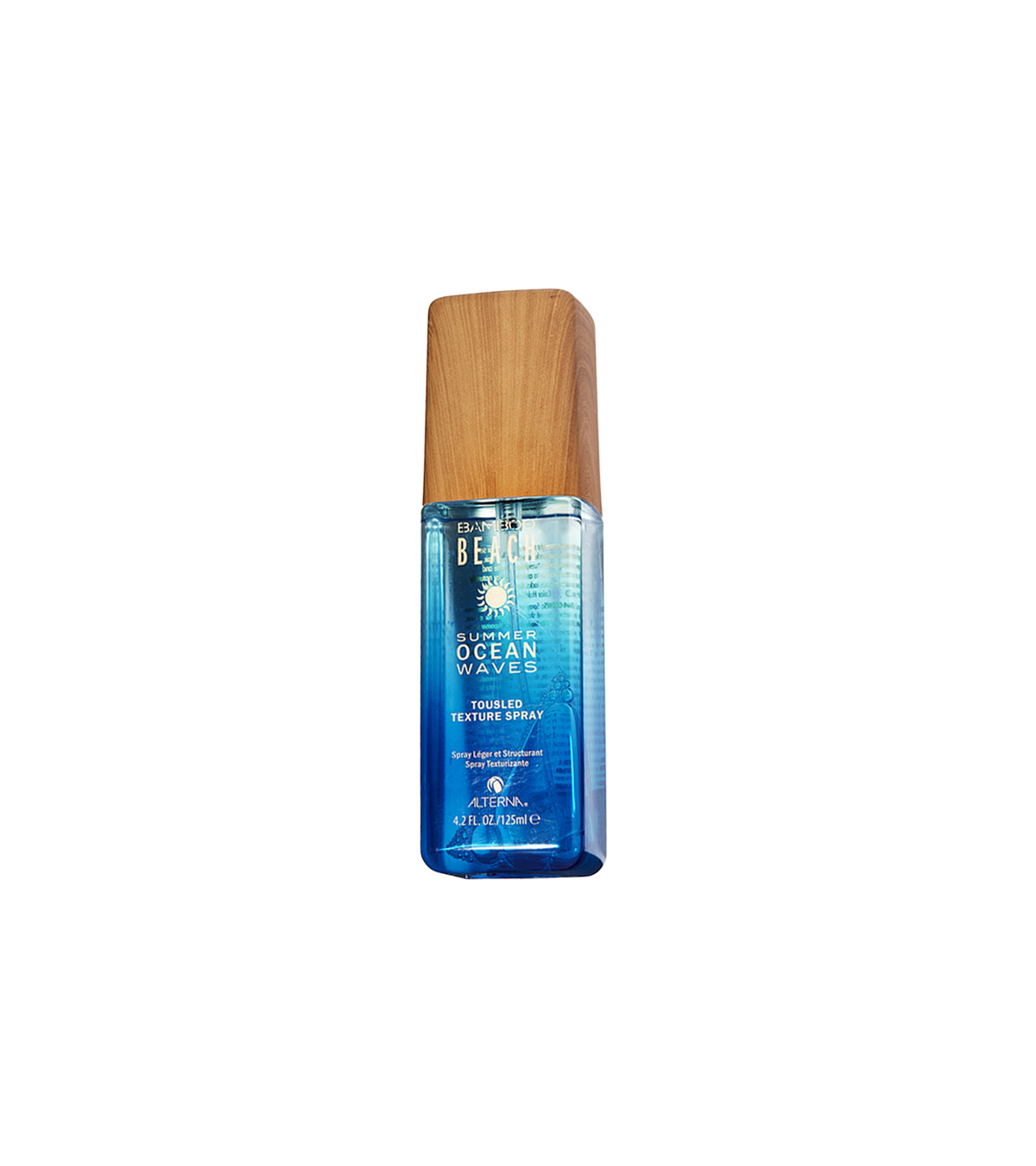 Bamboo Beach Summer Ocean Waves Tousled Texture Spray