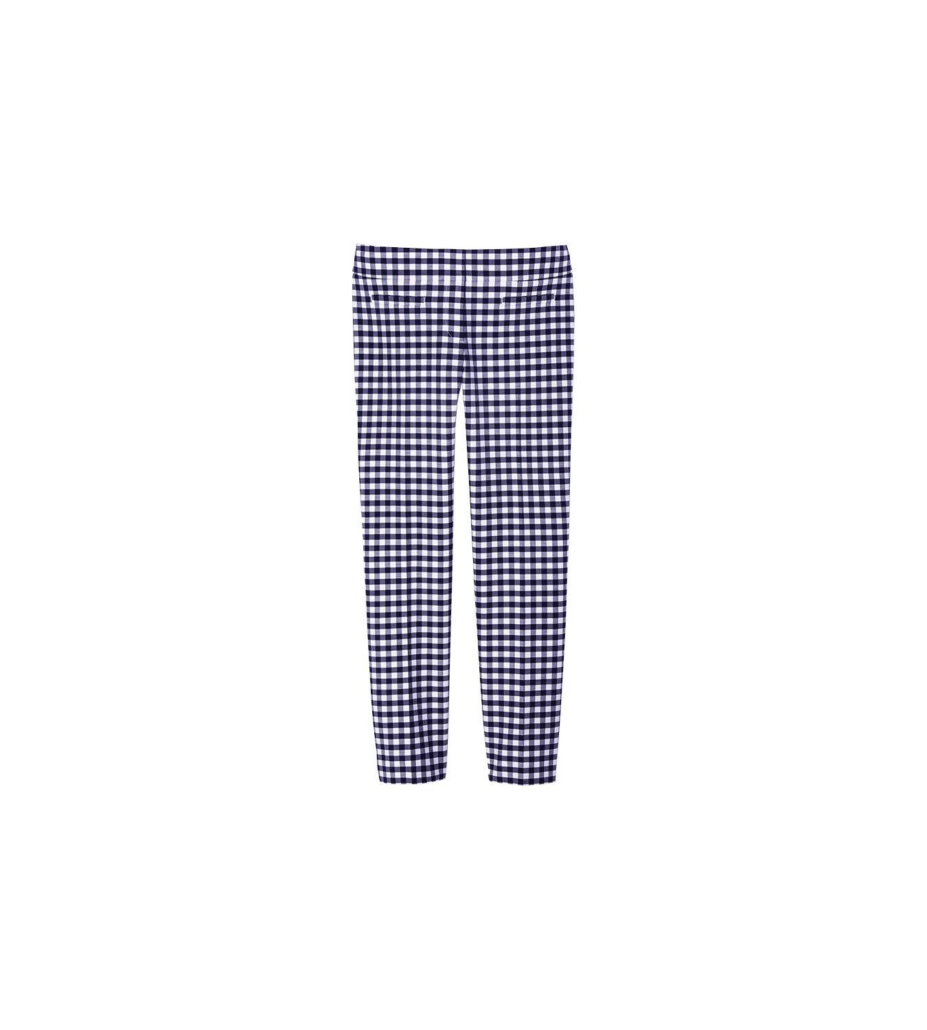 Ann Taylor Devin Gingham Crop Pants