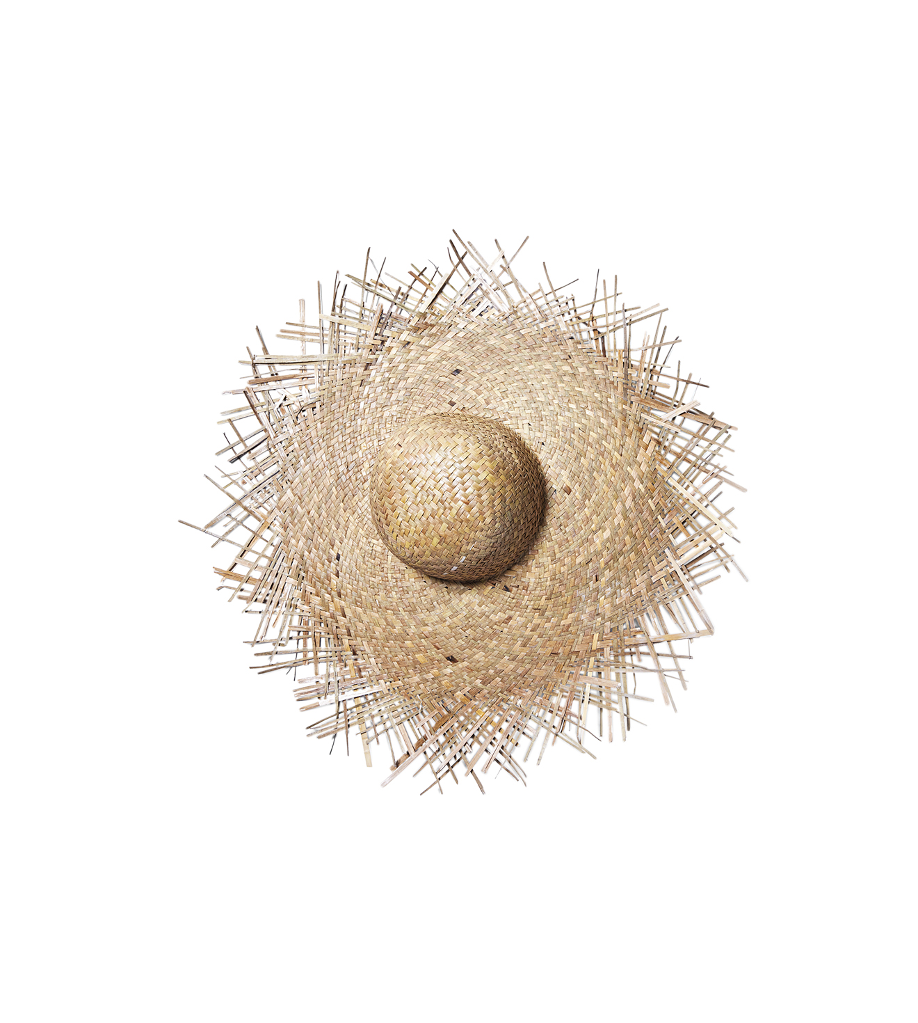 Lack of Color 'The Russo' Frayed Straw Hat