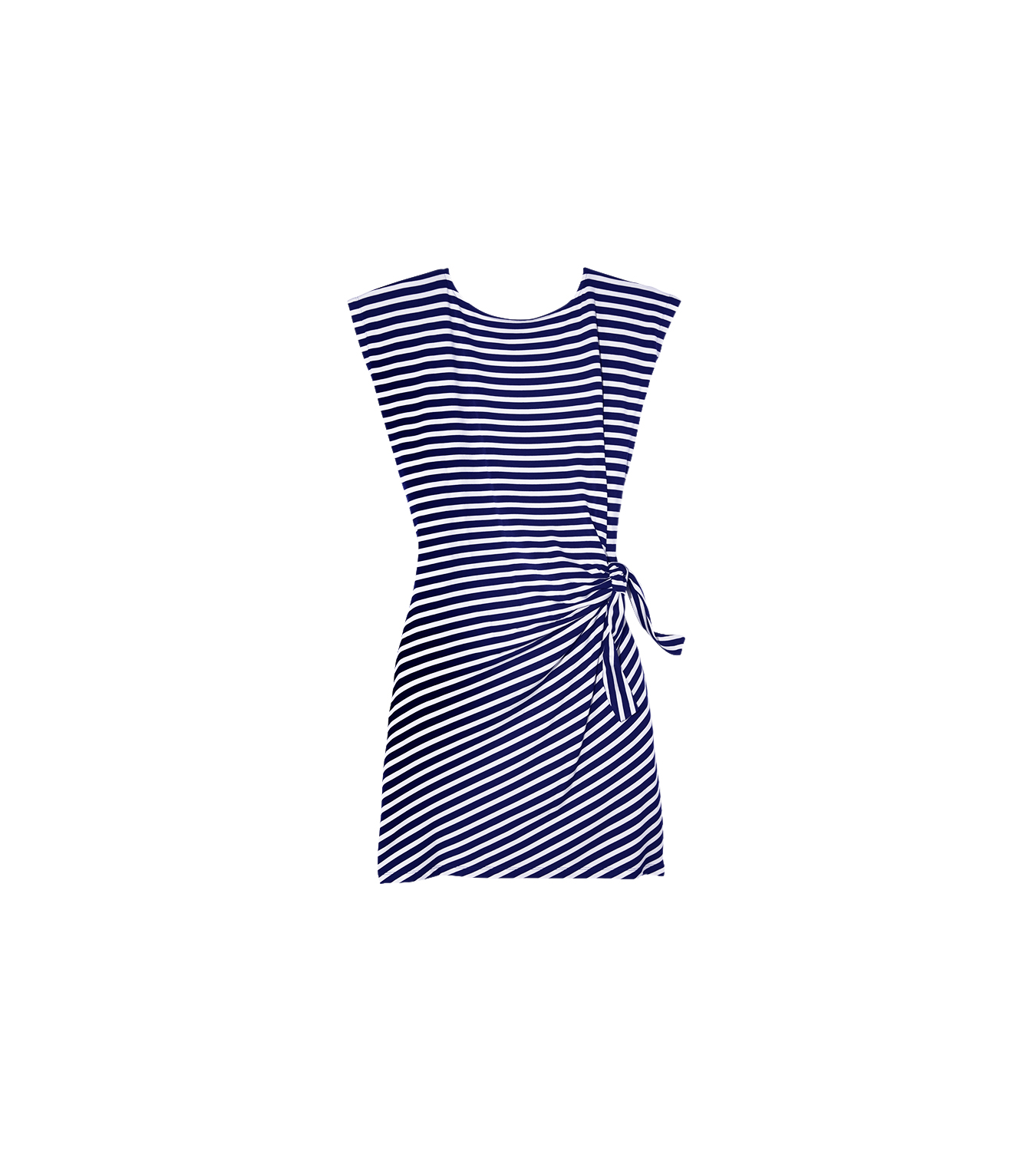 Nautica Striped Side Tie Dress