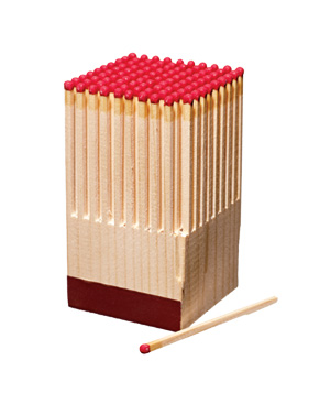 Fitzsu Block of Wooden Matches
