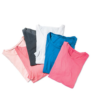 Rachel Roy cotton tees