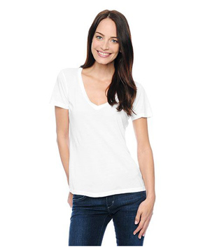 Splendid Very Light Jersey V-Neck Top