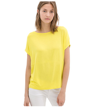 Zara Viscose T-Shirt Light