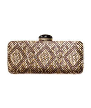 Banana Republic Ikat-Print Clutch