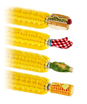 Mr. Bar-B-Q Mix Shapes of Corn Skewers