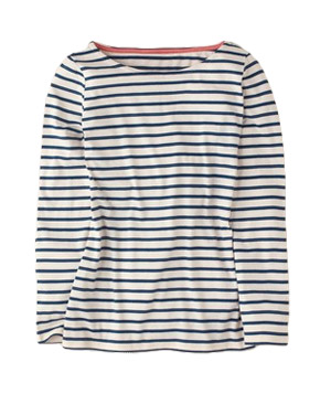Boden Long Sleeve Breton Top
