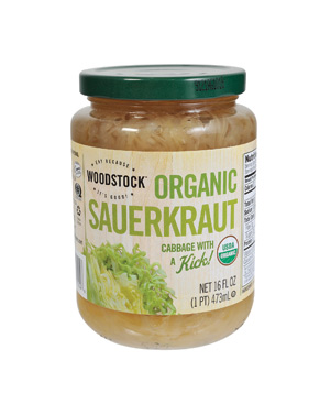 Woodstock Farms Organic Sauerkraut