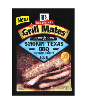 Grill Mates Slow & Low Smokin' Texas BBQ Rub