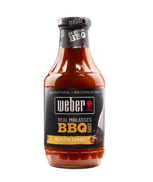 Weber Real Molasses BBQ Sauce Buzz' N Honey