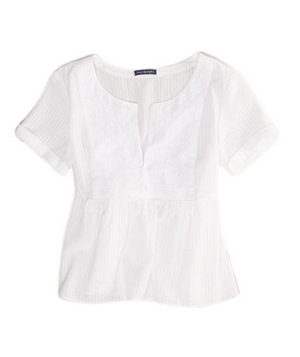 American Eagle Outfitters AE Embroidered Flowy Top