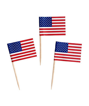 American Flag Toothpicks