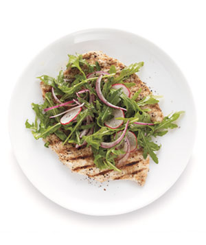 Chicken Milanese With Arugula Salad
