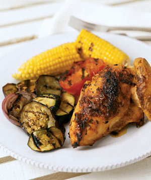 Grilled Garlic Chicken