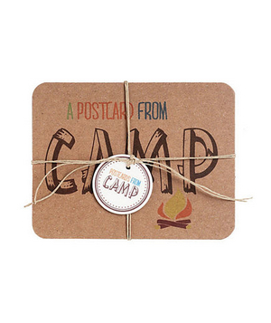 Chipboard Camp Postcards