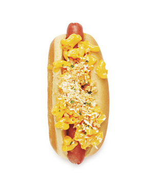 Mac and Cheese Dog