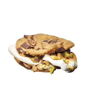 Chocolate Chip Cookies With Marshmallows and Pistachios