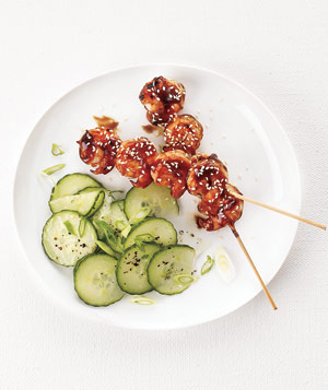 Hoisin-Glazed Shrimp Skewers