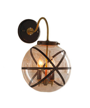 Steam Punk Outdoor Wall Lantern