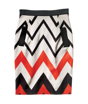 Plenty by Tracy Reese Stretch-Cotton Skirt