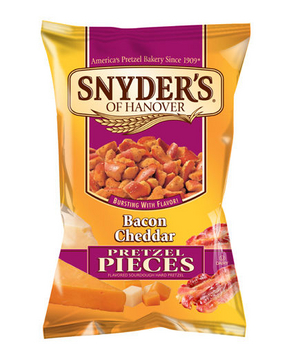 Snyder's Bacon Cheddar Pretzel Pieces