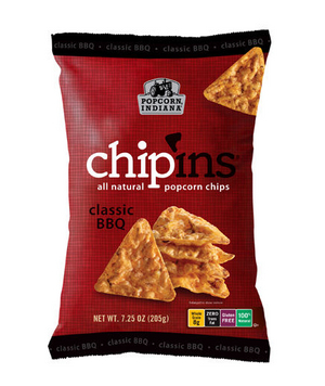Popcorn, Indiana Classic BBQ Chip'ins
