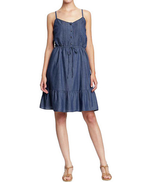 Old Navy Pintucked Prairie Dress