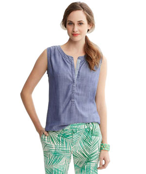 Banana Republic Denim Tank