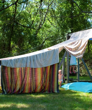 Large outdoor tent & Amazing Blanket Fort Ideas - Real Simple