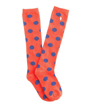 Girls' Moon-Dot Knee Highs