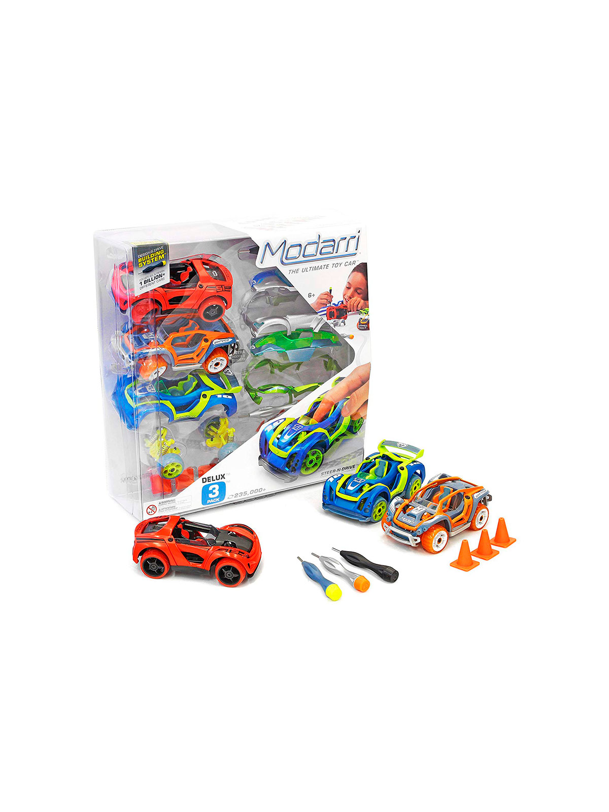 Modarri Build Your Toy Car Kit