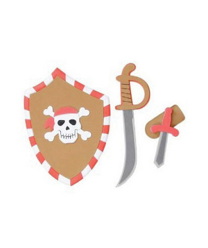 Creative Education Pirate Sword/Shield Set