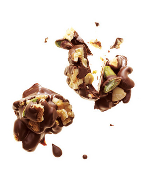 Dark Chocolate and Nut Clusters