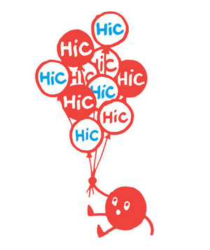 Illustration of hiccup balloons