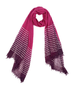 Echo Design Dip Dye Lurex Border Wrap