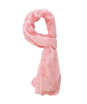 Forever 21 Sheer Frayed Scarf