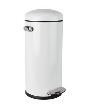 Incroyable Simplehuman 30L Round Retro Step Can