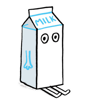 Illustration of milk