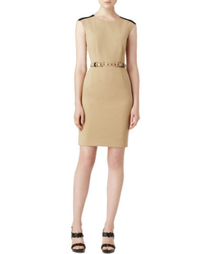 Calvin Klein Stretch-Gabardine Dress