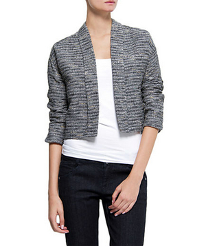 Mango Cotton-Blend Jacket