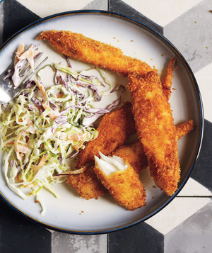 Oven-Baked Fish Sticks
