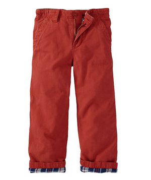 Mini Boden Lined Chinos (Toddler)