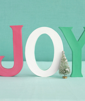 Joy centerpiece