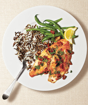 Tilapia With Pecan Brown Butter
