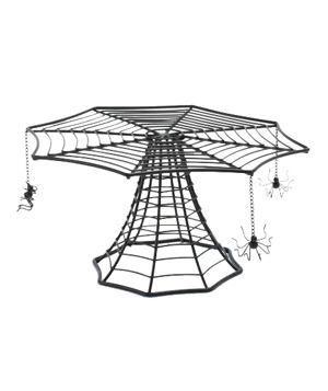 Spider Web Cake Stand