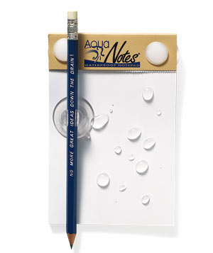 AquaNotes Waterproof Note Pad