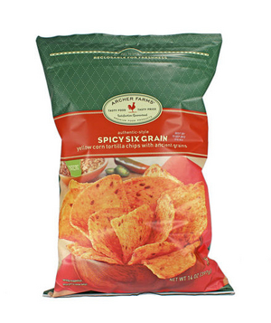 Archer Farms Spicy Six Grain Tortilla Chips