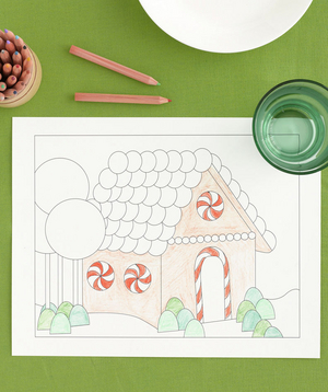 Gingerbread House Placemat